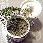 recette Sel maison parfumé au thym de mon jardin