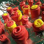 recette Tuto roses ruban en pate à sucre