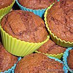 recette MUFFINS CHOCOLAT-BEURRE DE CACAHUETES