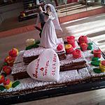 recette Notre gâteau *Piéce montée surprise*pour le mariage de Marraine
