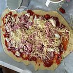 recette Pizza fait par les enfants pour un apéritif