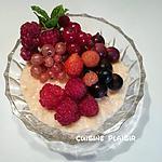 recette Riz au lait et petits fruits rouges du jardin