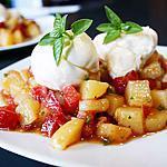 recette Salade de pommes-de-terre nouvelles, tomates et mozzarella
