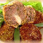 recette Boulettes de viande au coeur de mozzarella
