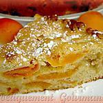 recette Moelleux abricots et nougat blanc