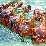 recette Pilons de poulet à l'érable