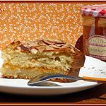 recette Gâteau aux amandes et confiture d'abricots