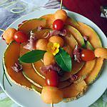 recette Melon au sirop d'érable