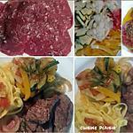 recette Boeuf au gros sel, griller et légumes marinés