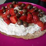 recette Pavlova fraise
