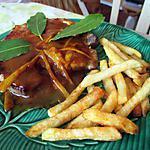 recette cotes de porc à l'orange