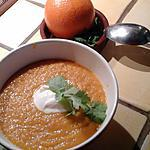 recette velouté de carottes à l'orange