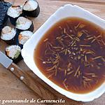 recette Sauce pour nems-makis