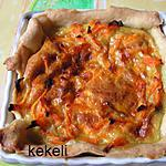 recette Mini tarte aux carottes et au cumin