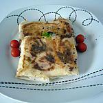 recette Bricks St nectaire/tomates/basilic