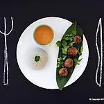 recette Boulettes thaï accompagnées d'une sauce cacahuètes