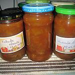 recette Confiture de rhubarbe.abricots en MAP.