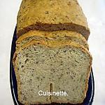 recette Pain aux céréales en machine à pain.