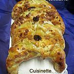 recette Croissants au chocolat.noix de Pécan.