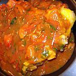 recette Côtelette de veau aux tomates et à l'oignon