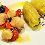 recette Noix de Saint Jacques en cocotte pommes de terre écrasées