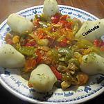 recette Topinambours accompagnés de légumes