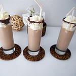recette Milk shake banane-vanille-Nutella