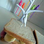 recette Sandwich jambon babybel pique nique de PAPA