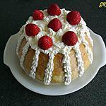 recette charlotte fraises/mascarpone/fromage blancs type faisselle