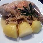 recette Cuisses de lapin au fenouil et au romarin