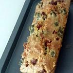 recette cake apéritif aux jambons lardons olives vertes