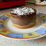 recette Entremet mousse banane chocolat