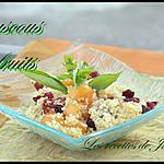 recette couscous aux fruits