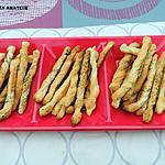 recette Gressins aux graines de pavots