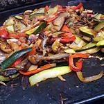 recette Ratatouille à la plancha de *Pipa*