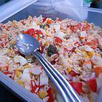 recette Salade de riz de Mamie
