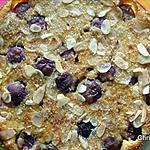 recette Flan aux raisins et amandes