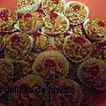 recette Roses aux amandes et miel