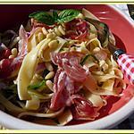 recette Salade de pâtes à la coppa
