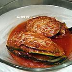 recette Lasagne de courgette et aubergine