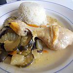 recette Poulet a l'ananas de Dhanggit