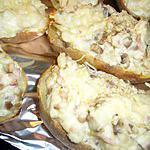 recette Pommes de terre aux champignons