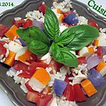 recette salade de restes.