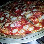 recette Wrap'izza napolitaine *pizza façon wrap*
