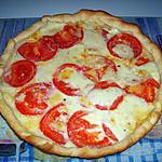 recette Tarte tomates/St nectaire/Mozzarella