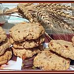 recette Cookies aux Snickers et Noix de Pécan