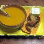 recette Velouté de carottes Carotte à la crème fraiche .