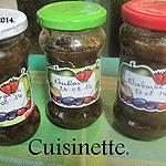 recette Confiture de rhubarbe à la vanille.