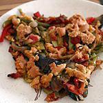 recette Crumble salé aux légumes d'été