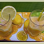 recette Jus de citrons et Oranges
